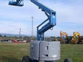 Genie Z34/22 4WD Diesel Articulating Knuckle Boom - picture2' - Click to enlarge