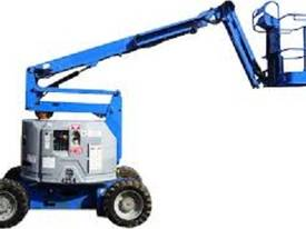 Genie Z34/22 4WD Diesel Articulating Knuckle Boom - picture0' - Click to enlarge