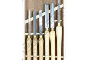 WT-6 HSS Wood Turning Tools - 6 Piece Set