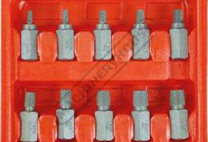 T870 Screw Extractor Set - 10 piece Extracts 3/16