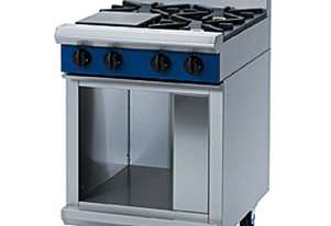 Blue Seal Evolution Series G514D-CB - 600mm Gas Cooktop - Cabinet Base