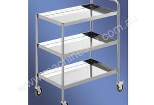 Simply Stainless S/Steel Three Tier Trolley