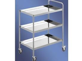 S/Steel Three Tier Trolley - picture0' - Click to enlarge