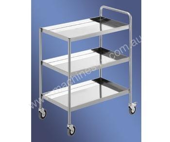 S/Steel Three Tier Trolley