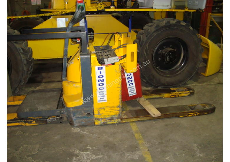 Used jungheinrich electric pallet jack powered pallet for Motorized pallet jack rental