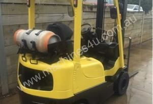 Used LPG Hyster G1.80TX forklift