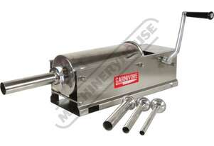 SST-5L Sausage Stuffer - Stainless Steel 2 Speed Gearbox Drive Plunger 5 Litre Holding Capacity