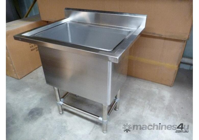 NEW COMMERCIAL 1800X600 STAINLESS STEEL FLAT BENCH