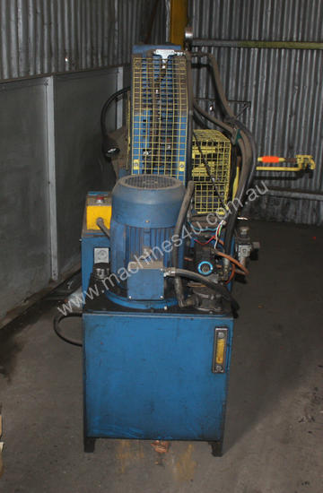 Hydraulic Fabricated Press 3 Phase Guarded Foot Co