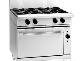 Waldorf 800 Series RN8910GEC - 900mm Gas Range Electric Convection Oven - picture0' - Click to enlarge