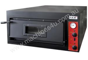 F.E.D. EP-1-1 Black Panther Single Deck Pizza Oven