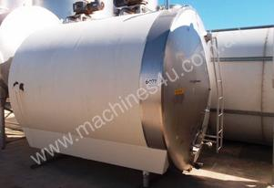 Stainless Steel Horisontal Jacketed Mixing Tank