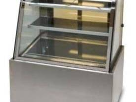 900mm Showcase Curved Glass  - picture0' - Click to enlarge