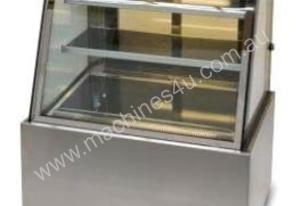 Anvil 900mm Showcase Curved Glass