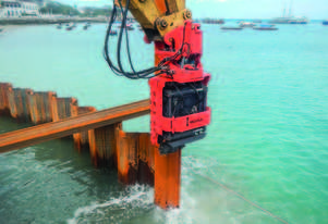MOVAX SG-60V EXCAVATOR MOUNT PILE DRIVER (28-32T)