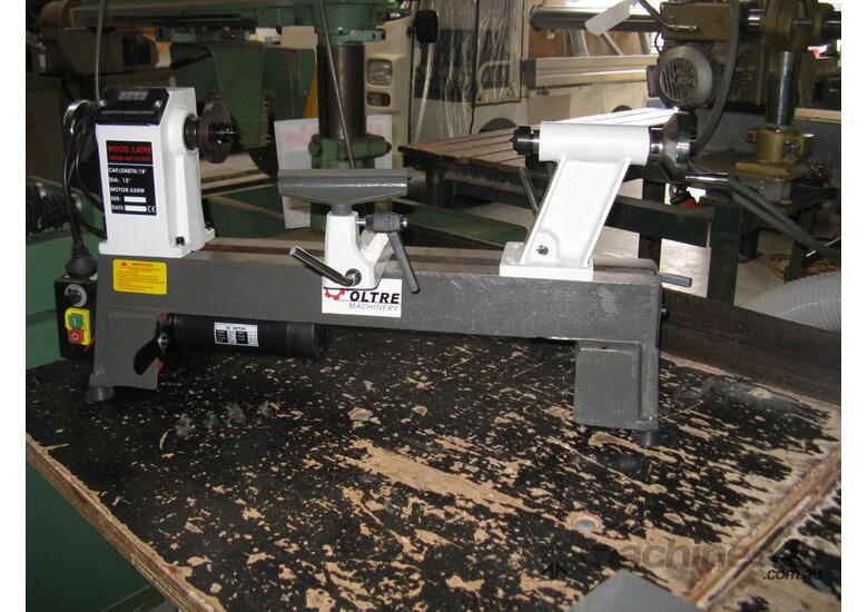 550W Mini Wood Lathe 12x18