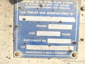 ATA GALVANISED 5 TON PLANT TRAILER - picture3' - Click to enlarge