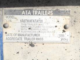 ATA GALVANISED 5 TON PLANT TRAILER - picture9' - Click to enlarge