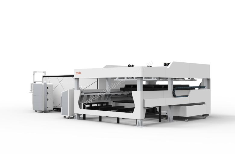 2kW Fiber Laser with Auto sheet load / unload