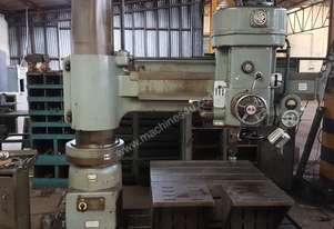 RADIAL ARM DRILLING MACHINE