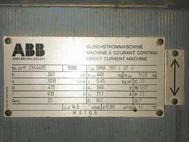 270 kw 1031 rpm 280 frame DC Electric Motor - picture1' - Click to enlarge