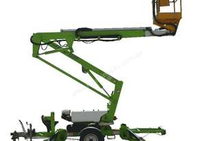 Trailer mounted cherry picker - 12m Nifty