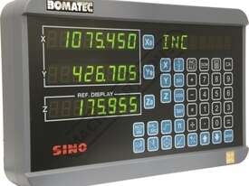 XH-3 3-Axis Digital Readout Counter - 5µm  Suits Lathes & Mills - picture2' - Click to enlarge
