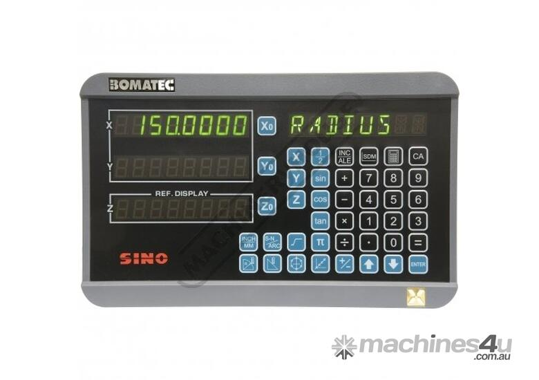 XH-3 3-Axis Digital Readout Counter - 5µm  Suits Lathes & Mills