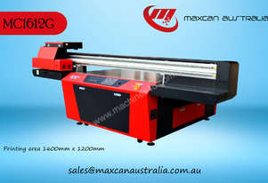 Maxcan Australia MC 1612G - 8H   UV Cured Flatbed Digital Printer
