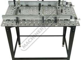 SRK-40P1 Welding Table with Square & Round Tube Clamp Kit 600 x 900 x 860mm (LxWxH) Includes 40 Piec - picture8' - Click to enlarge