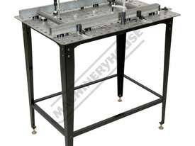 SRK-40P1 Welding Table with Square & Round Tube Clamp Kit 600 x 900 x 860mm (LxWxH) Includes 40 Piec - picture0' - Click to enlarge