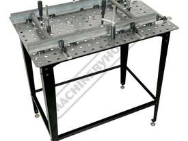 SRK-40P1 Welding Table with Square & Round Tube Clamp Kit 600 x 900 x 860mm (LxWxH) Includes 40 Piec - picture7' - Click to enlarge