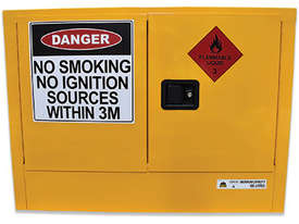 100L Indoor Flammable Liquids Cabinet. Australian made to meet Australian Standards (AS1940) - picture0' - Click to enlarge