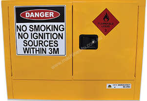 100L Indoor Flammable Liquids Cabinet. Australian made to meet Australian Standards (AS1940)