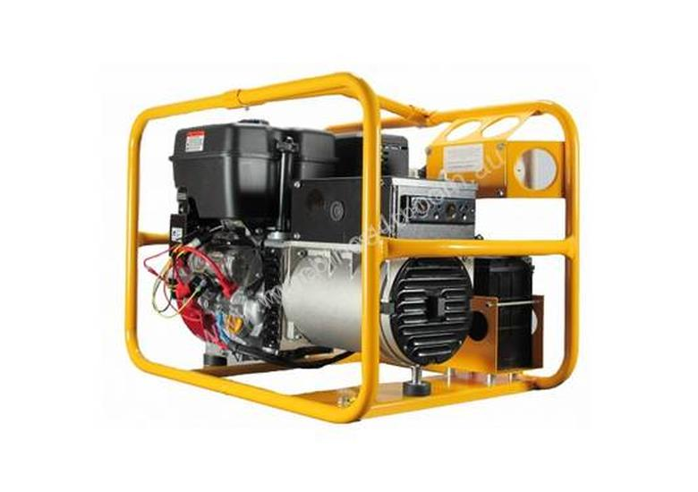 Powerlite Briggs & Stratton Vanguard 8kVA Three Phase Petrol Generator