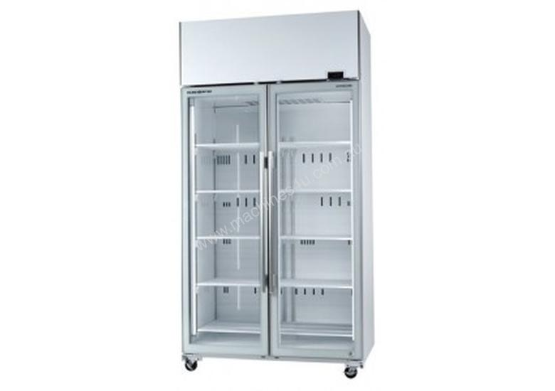 SKOPE - TME1000-A , Active Core 2 Door White Display Fridge