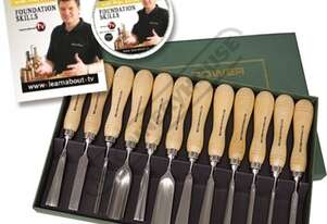 RPCV12A Special Edition Carving Tool Set with Bonus DVD and Booklet 12 Piece
