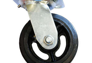 42082 - RUBBER MOULDED IRON WHEEL CASTOR(SWIVEL)
