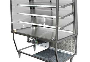 FPG 5A15-SQ-FF FPG 5000 Series Square Ambient Fixed Front Food Cabinet - 1500mm