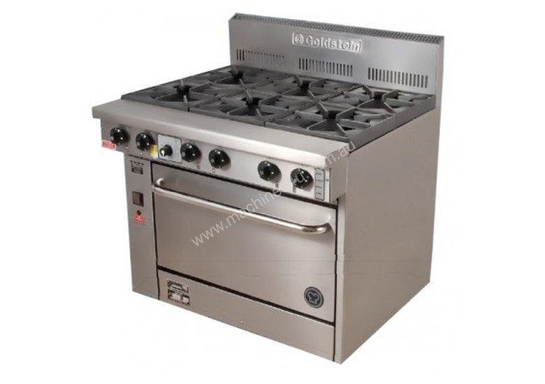 Goldstein PF-6-28 6 Burner Gas Static Oven