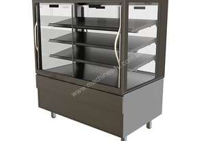 FPG 4A12-SQ-SD 4000 Series Square Ambient Sliding Door Food Cabinet - 1200mm