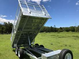 2018 Ozzi 14x7 Flat Top Tipper Trailer 3500kg - picture0' - Click to enlarge