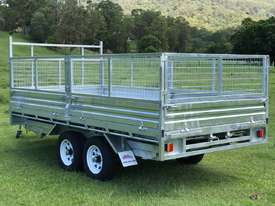 2018 Ozzi 14x7 Flat Top Tipper Trailer 3500kg - picture5' - Click to enlarge