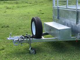 Ozzi 14x7 Flat Top Tipper Trailer 3500kg - picture8' - Click to enlarge