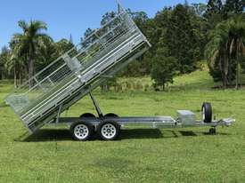 Ozzi 14x7 Flat Top Tipper Trailer 3500kg - picture11' - Click to enlarge