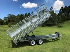 Ozzi 14x7 Flat Top Tipper Trailer 3500kg - picture12' - Click to enlarge