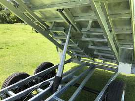 Ozzi 14x7 Flat Top Tipper Trailer 3500kg - picture14' - Click to enlarge