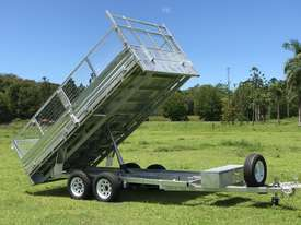 Ozzi 14x7 Flat Top Tipper Trailer 3500kg - picture16' - Click to enlarge