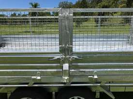 Ozzi 14x7 Flat Top Tipper Trailer 3500kg - picture17' - Click to enlarge