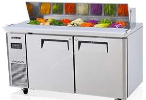 Skipio SHR15-2 Under Counter Salad Side Prep Table Double Door